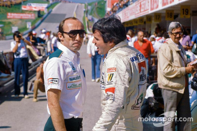 Frank Williams avec Alan Jones