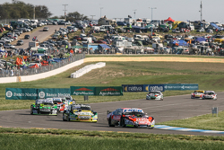 Guillermo Ortelli, JP Racing Chevrolet, Omar Martinez, Martinez Competicion Ford, Mauro Giallombardo, Maquin Parts Racing Ford