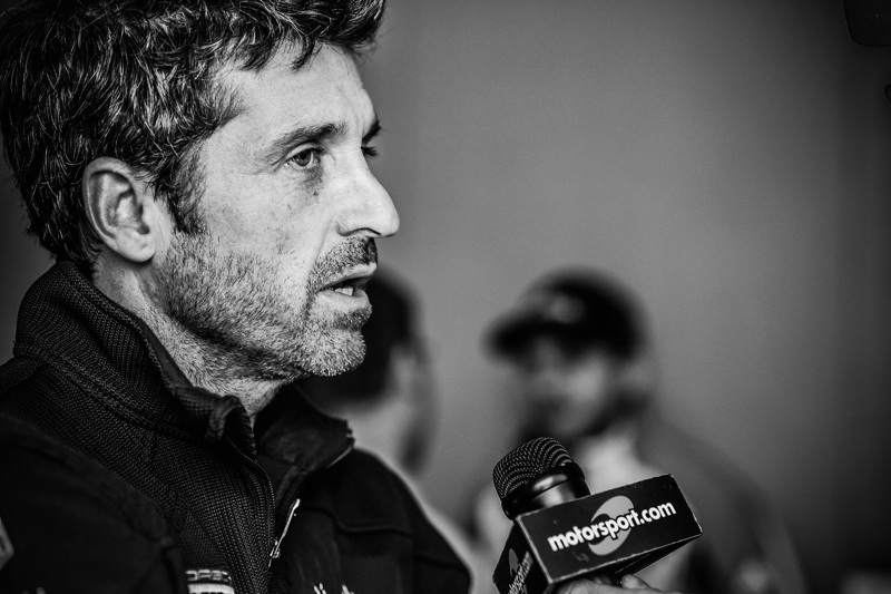 Patrick Dempsey speaks to Motorsport TV