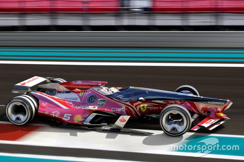 Onafhankelijk Formule 1-ontwerp: Ferrari (2015)