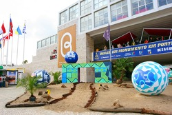 Organization headquarters main entrance