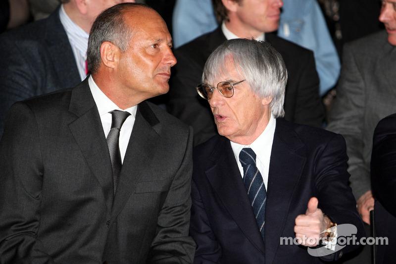Ron Dennis and Bernie Ecclestone