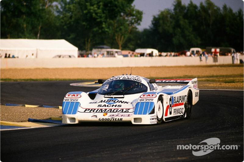 #8 Jöst Racing Porsche 962 C: Claude Ballot-Léna, Henri Pescarolo, Jean-Louis Ricci