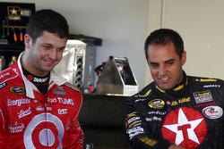 Reed Sorenson and Juan Pablo Montoya