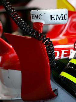 Toyota F1 Team TF108 body work detail