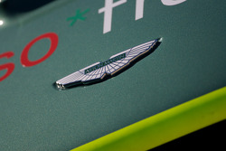 Detail of the Bell Motorsports Aston Martin DBR9