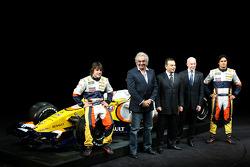 Fernando Alonso, Renault F1 Team, Flavio Briatore, Renault F1 Team, Team Chief, Managing Director, Nelson A. Piquet, Renault F1 Team