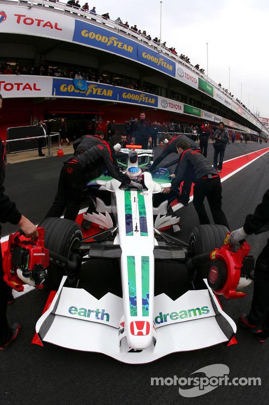 Jenson Button, Honda Racing F1 Team, RA108