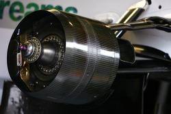 Honda RA108 brake system detail