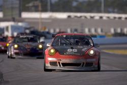 #88 Farnbacher Loles Porsche GT3 Cup: Eric Curran, Pierre Kaffer, Dave Lacey, Frank Stippler, Greg Wilkins