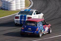 #11 Emerald Hill Motorsports Ford Mustang GT: Steve Kent, Kurt Kossmann, #198 RSR Motorsports Mini Cooper S: Randy Smalley, Owen Trinkler
