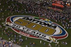 Daytona 500 50 Years logo