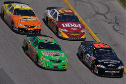 Martin Truex Jr., Kyle Busch, Clint Bowyer and Tony Stewart