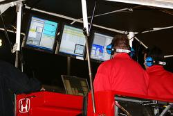 Target Chip Ganassi Racing monitors the action