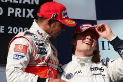 Lewis Hamilton, McLaren Mercedes, Nico Rosberg, WilliamsF1 Team