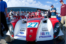 Horag Racing Porsche RS Spyder : Fredy Lienhard, Didier Theys, Jan Lammers