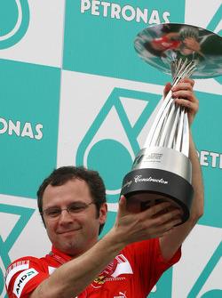 Podium: Stefano Domenicali, Scuderia Ferrari, Sporting Director