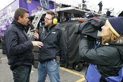 V8 Supercar driver Marcus Marshall interviews with Speed TV