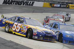 Michael Waltrip spins in turn four