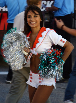 Beautiful Miami Dolphins cheerleader