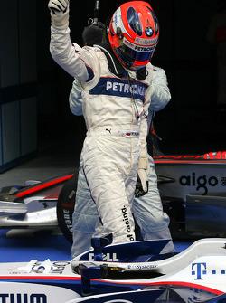 Pole winner Robert Kubica