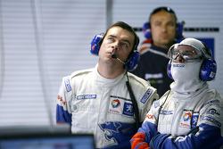 Team Peugeot Total team members
