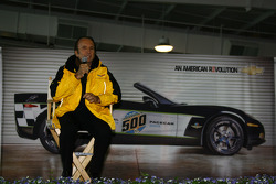 Two-time Indianapolis 500 winner Emerson Fittipaldi will drive one of the two Chevrolet Corvette Pace Cars at the 92nd Indianapolis 500