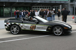 A 92nd Indianapolis 500 Chevrolet Corvette Pace Car