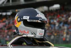 Helmet of Martin Tomczyk, Audi Sport Team Abt Sportsline, Audi A4 DTM