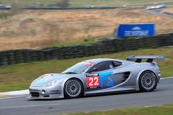 GT3 Ascari Team Eurotech Preci-spark exiting Scotsman