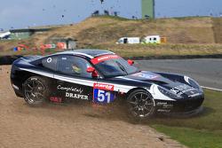 GT4 Team RPM Ginetta G50 off at Carlube