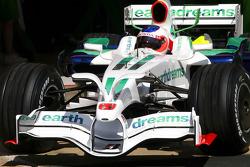 Rubens Barrichello, Honda Racing F1 Team, RA108 radical new front wing