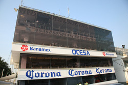 Autodromo Hermanos Rodriguez control tower