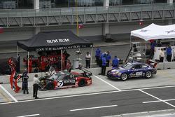 #7 Rum Bum Racing BMW Riley: Matt Plumb, Gene Sigal, #66 TRG Porsche GT3 Cup: Ted Ballou, Bryce Miller