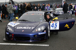 #45 Gravity Racing International Ascari KZ1 GT3: Howard Spooner, Jonathan Lang