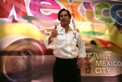 Mario Dominguez and PCM announment in Mexico City: Mario Dominguez