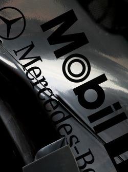 McLaren engine cover