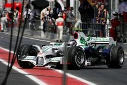 Rubens Barrichello, Honda Racing F1 Team out of the race