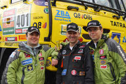 Tatra Team: Ales Loprais, Milan Holan and Ladislav Lala