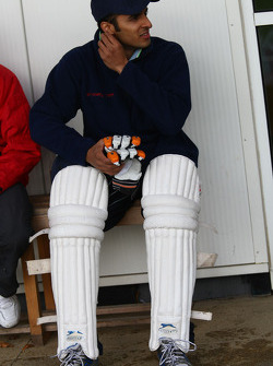 Parthiva Sureshwaren, driver of A1 Team India at the Kent County Cricket ground