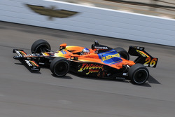 Marco Andretti in his Indianapolis special