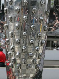 Images on the Borg Warner Trophy