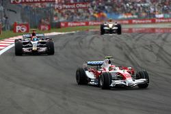 Timo Glock, Toyota F1 Team ve Sebastien Bourdais, Scuderia Toro Rosso
