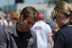 Will Power signing autographs