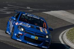 #103 Kissling Motorsport Opel Astra GTC: Frank Klaas, Marcus Schurig, Jochen Ãœbler, Alex Hoffman