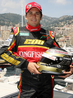 Giancarlo Fisichella, Force India F1 Team his 200th Grand Prix this weekend