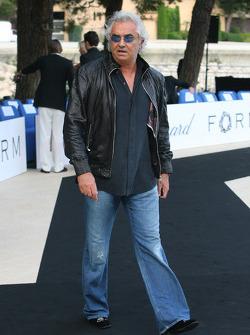Flavio Briatore, Renault F1 Team, Team Chief, Managing Director Amber Fashion which benefits the  Elton John Aids Foundation