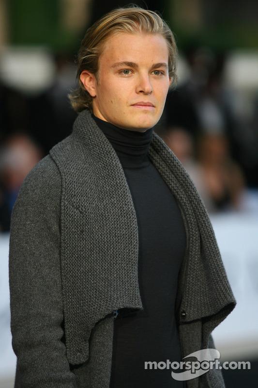 Nico Rosberg, WilliamsF1 Team Amber Fashion which benefits the Elton John Aids Foundation