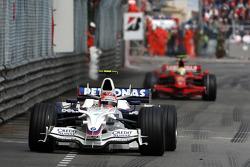 Robert Kubica,  BMW Sauber F1 Team, Felipe Massa, Scuderia Ferrari