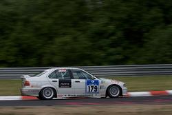 #179 BMW 318i: Lutz Kögel, Axel Burghardt, Frank Löchte